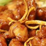 ORANGE CHICKEN - SPICY ALL WHITE MEAT CHICKEN WITH ORANGE PEELS